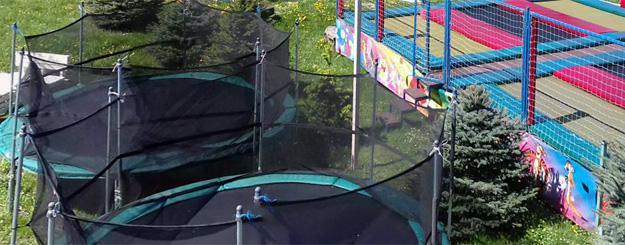 Батути в  Active Park